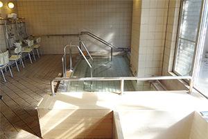 虹が丘リハビリケアセンターの1階浴室(女性専用)